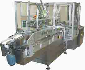 Horizontal Cartoners, intermittent machines, automatic vertical cartoner, wraparound cartoning machine, continuous cartone, casepacker, compact paletizer